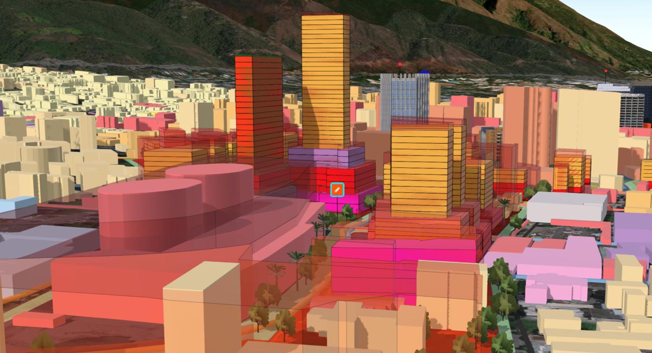 Introducción a ArcGIS Urban 2.0